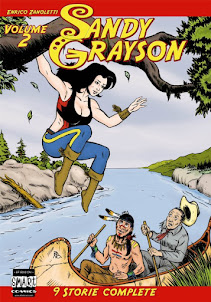 SANDY GRAYSON Vol 2 CARTACEO!
