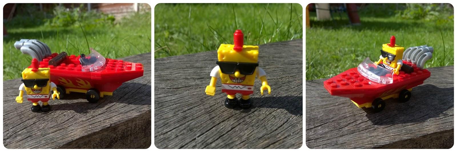 SpongeBob Squarepants Mega Bloks SpongeBob Racer