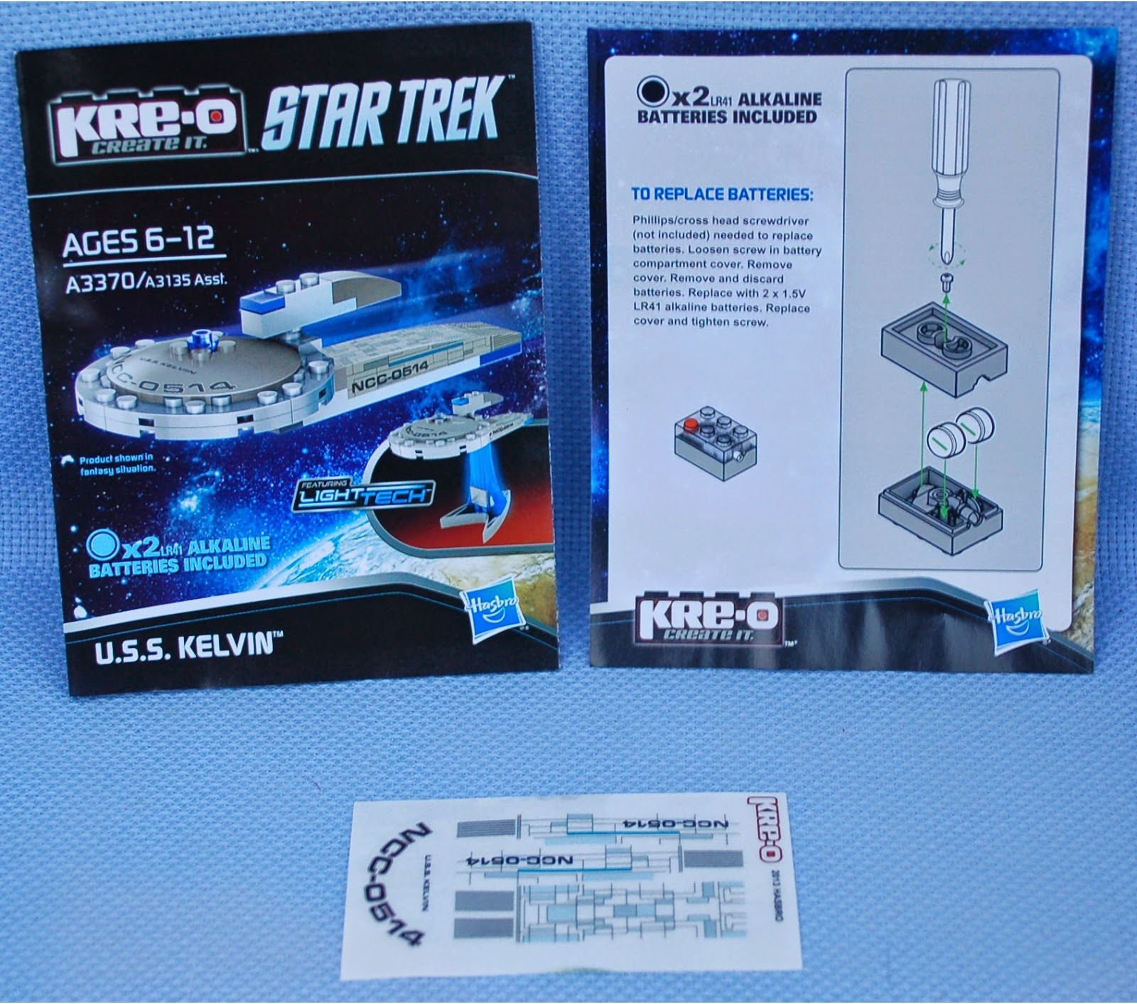 kre o star trek instructions