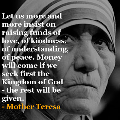 Mother Teresa's Inspirational Quote