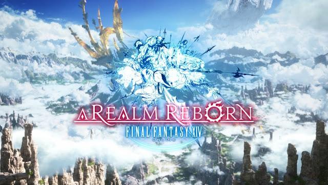 Final Fantasy 14 A Realm Reborn logo