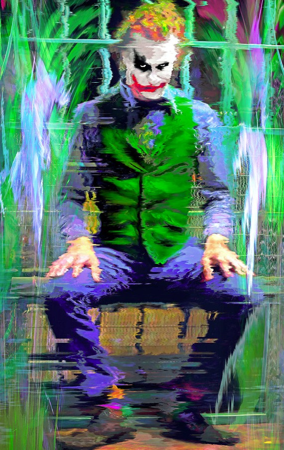 08-Joker-Heath-Ledger-Vartan-Garnikyan-Works-of-Art-Paintings-Batman-and-Joker-Themed-www-designstack-co