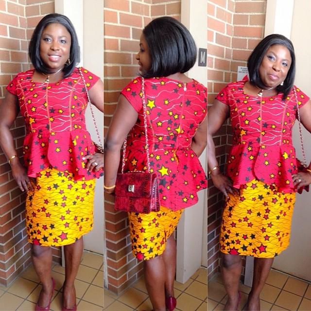 Ankara Skirt And Blouse Style Dezango Fashion Zone