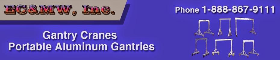 Aluminum Gantry | EC&MW, INC (775) 778-9112
