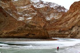Frozen Zanskar River, Chadar Trek, Ladakh