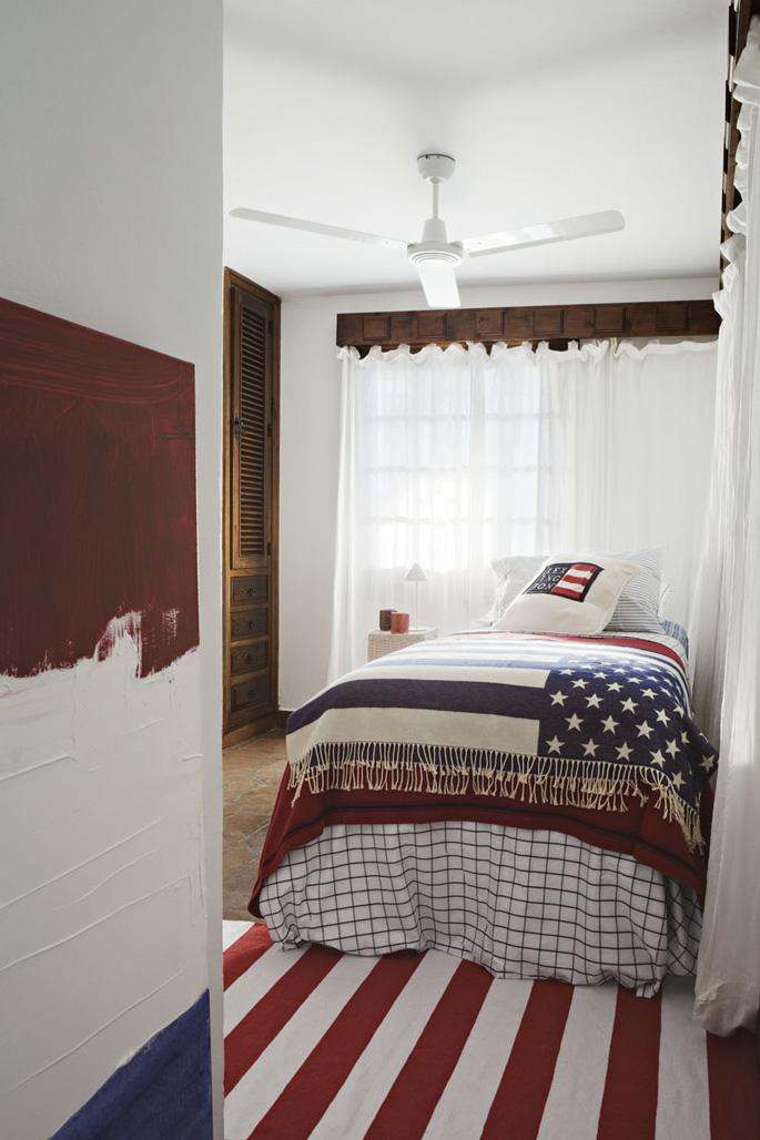 Una casa con atrezzos de la firma lexington absolute - Ropa de cama lexington ...