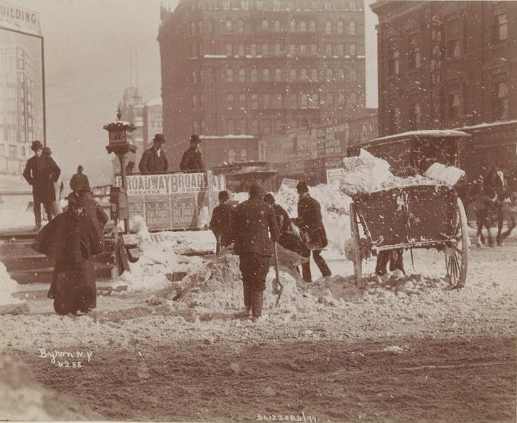La gran tormenta de nieve de 1899