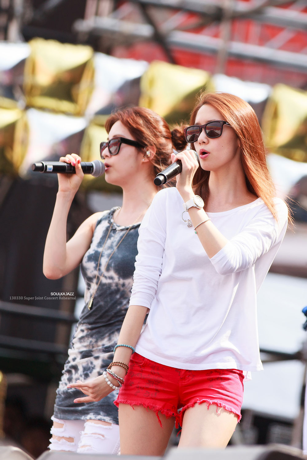SNSD Super Joint Concert in Thailand Rehearsal