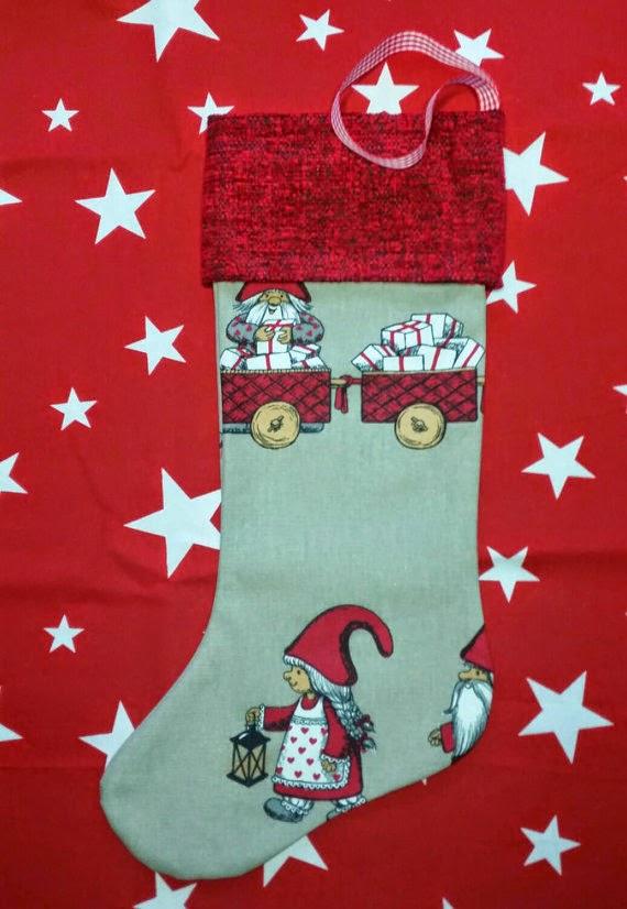 Christmas Stocking CraftyBeagleWares Etsy