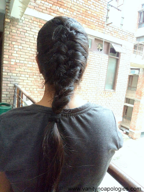french hair braid