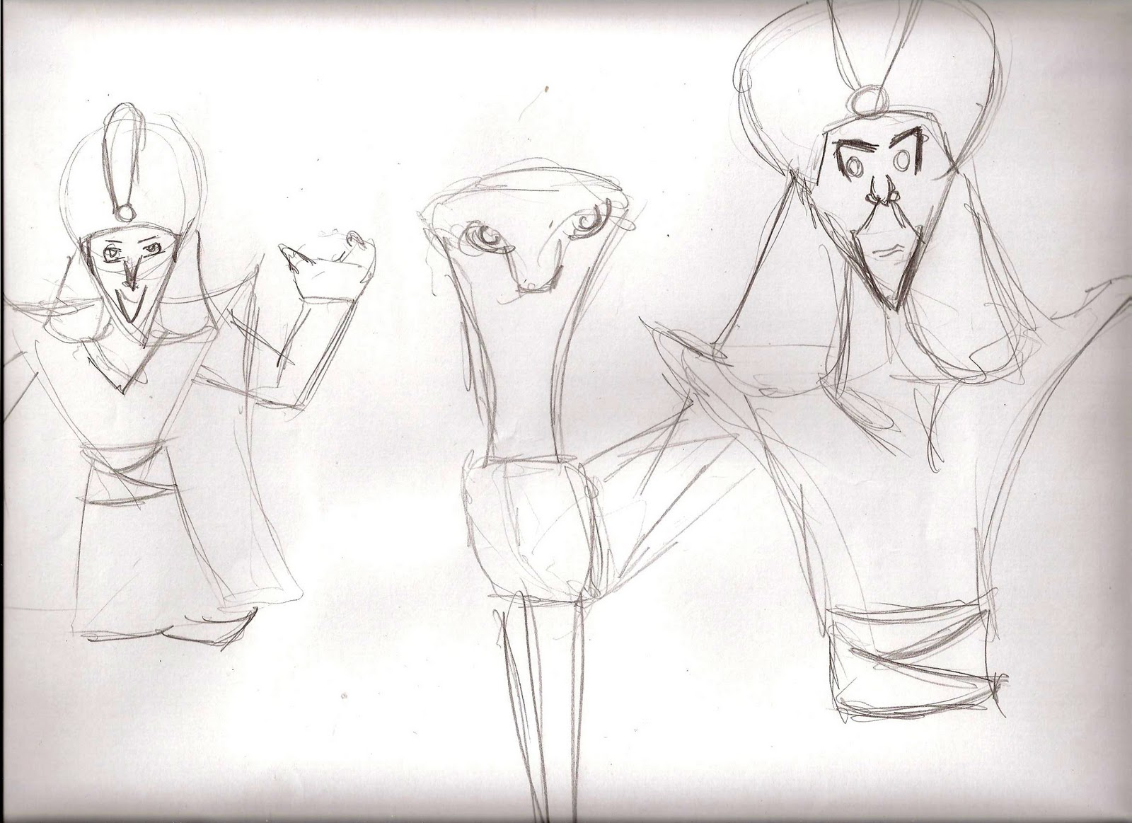 Character Design Session : Sharples designs week character hierachy