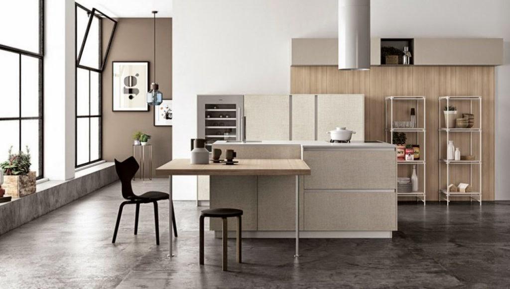 30 modelos de mesas y barras para cocinas de todos los for Mesa barra cocina