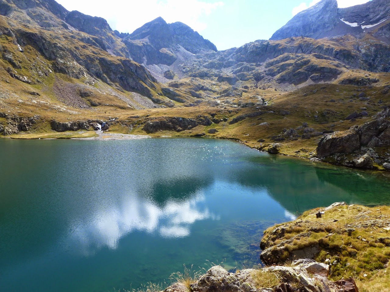 the Lac d'Arratille