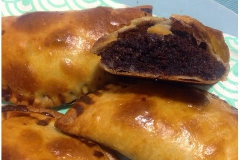 Empanadillas de Pera y Chocolate