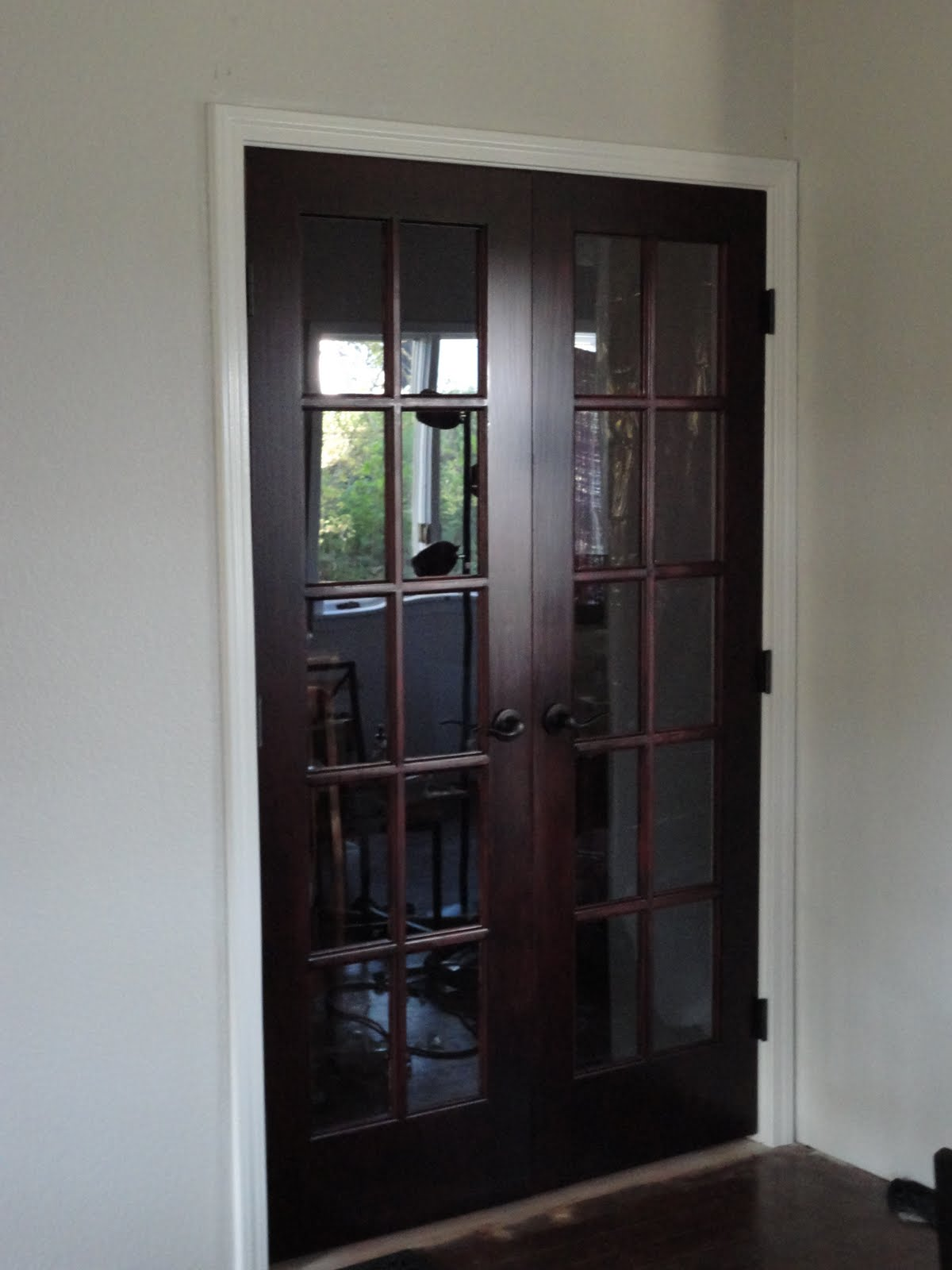 Craftsman 1204 French Doors Before And After