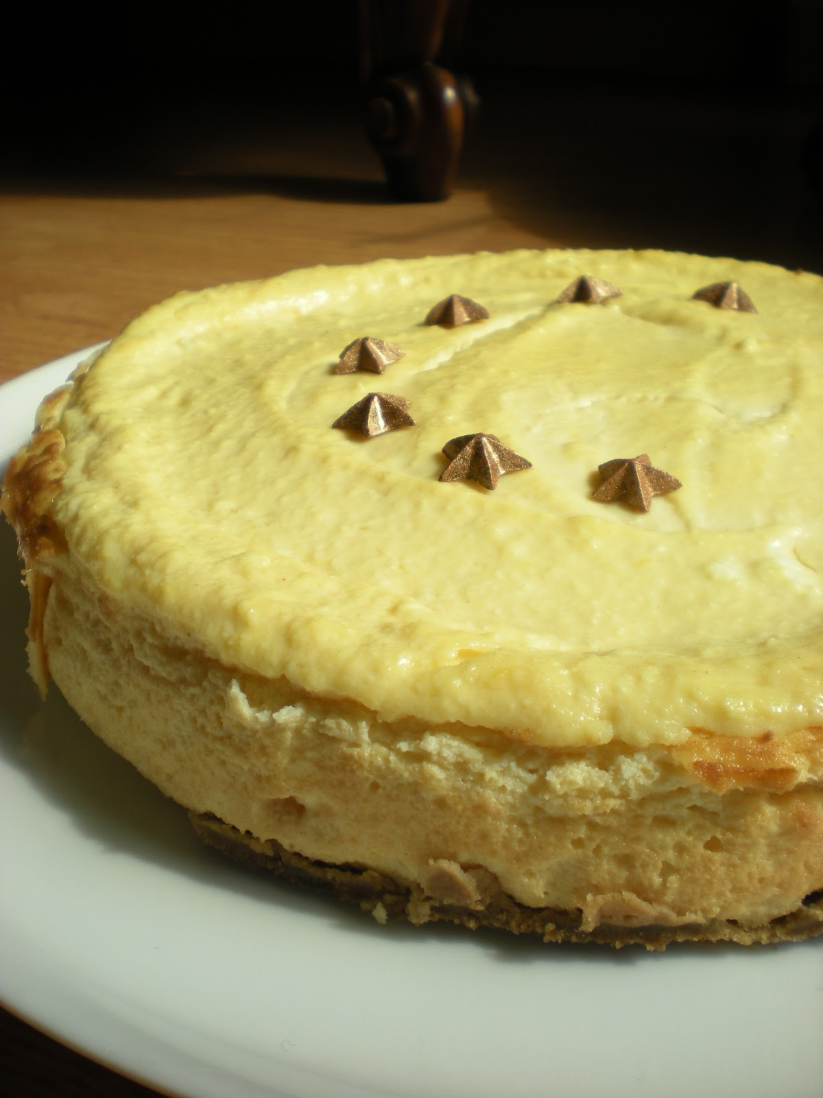 Bilingual Butter: Lemon Ricotta Cheesecake