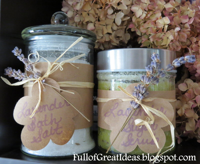 DIY Lavender Bath Salt   Easy Gifts On A Budget