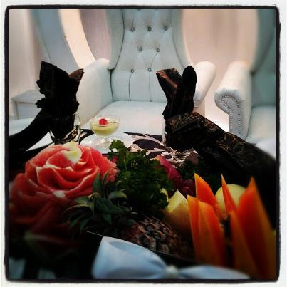 set hidangan pengantin