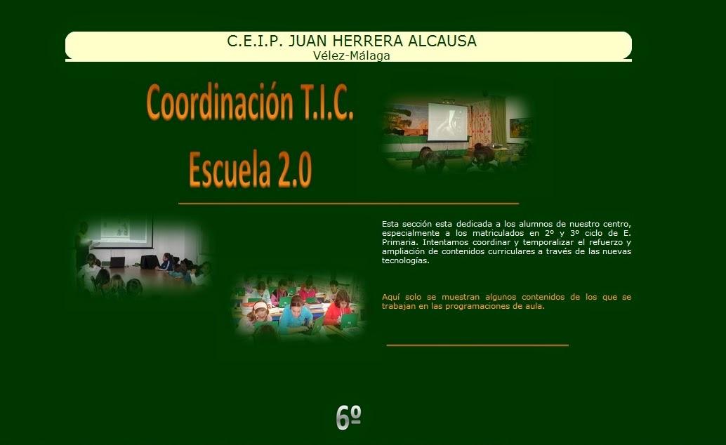 http://www.ceipjuanherreraalcausa.es/coordinaciontic6.php