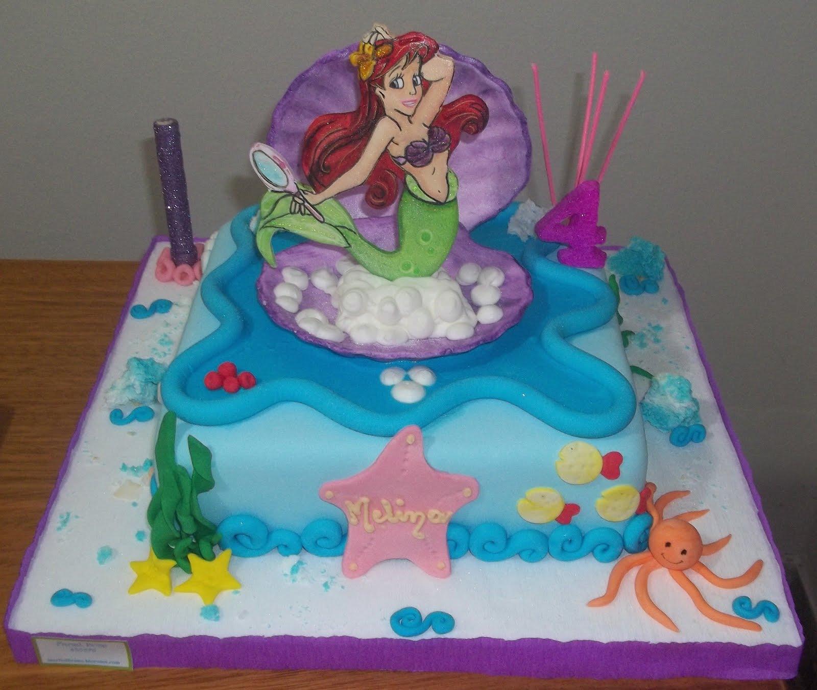 Invitaciones para imprimir de La Sirenita (Princesa Ariel