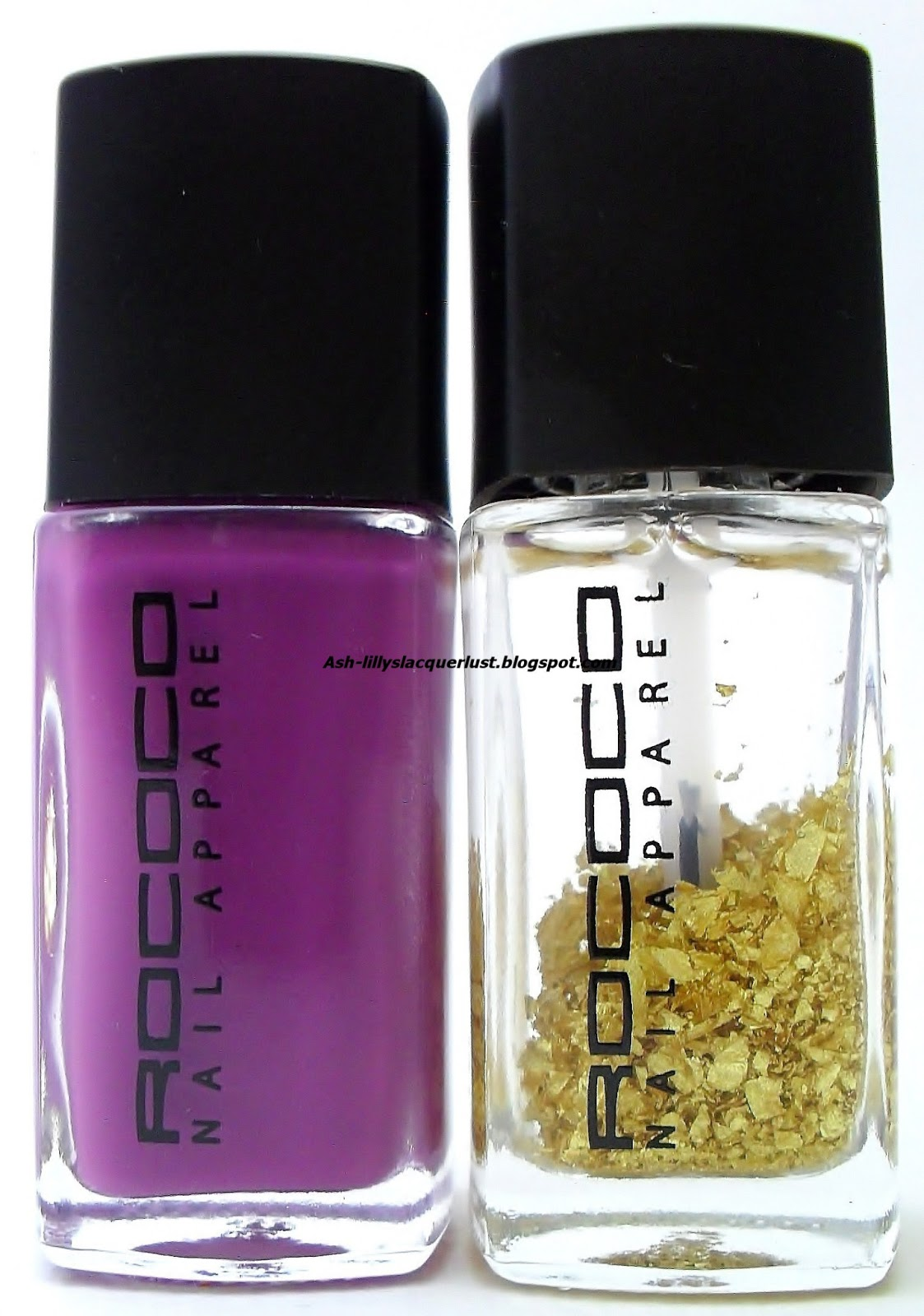 Ash-Lilly\'s Lacquer Lust: Rococo Nail Apparel Purple Reign and 23ct ...
