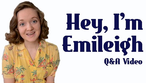 Flashback Summer: Hey, I'm Emileigh. A Q&A Video
