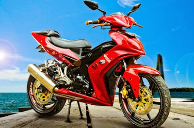 Jupiter MX : Modifikasi Jupiter MX Ter Update 2014