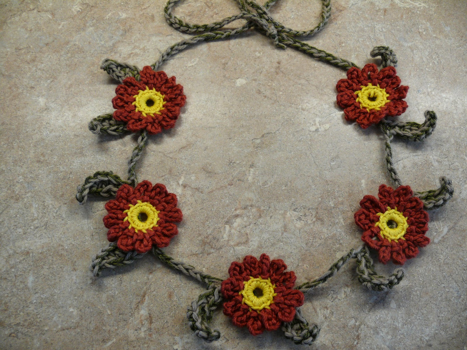 String Theory Crochet: Summer Flowers in Your Hair? Free Crochet ...