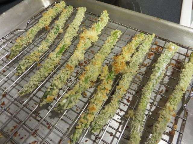 how to cook baked asparagus