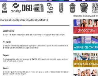 Registro COMIPEMS 2015 Bachillerato inicio registro 16 al 29 de Abril