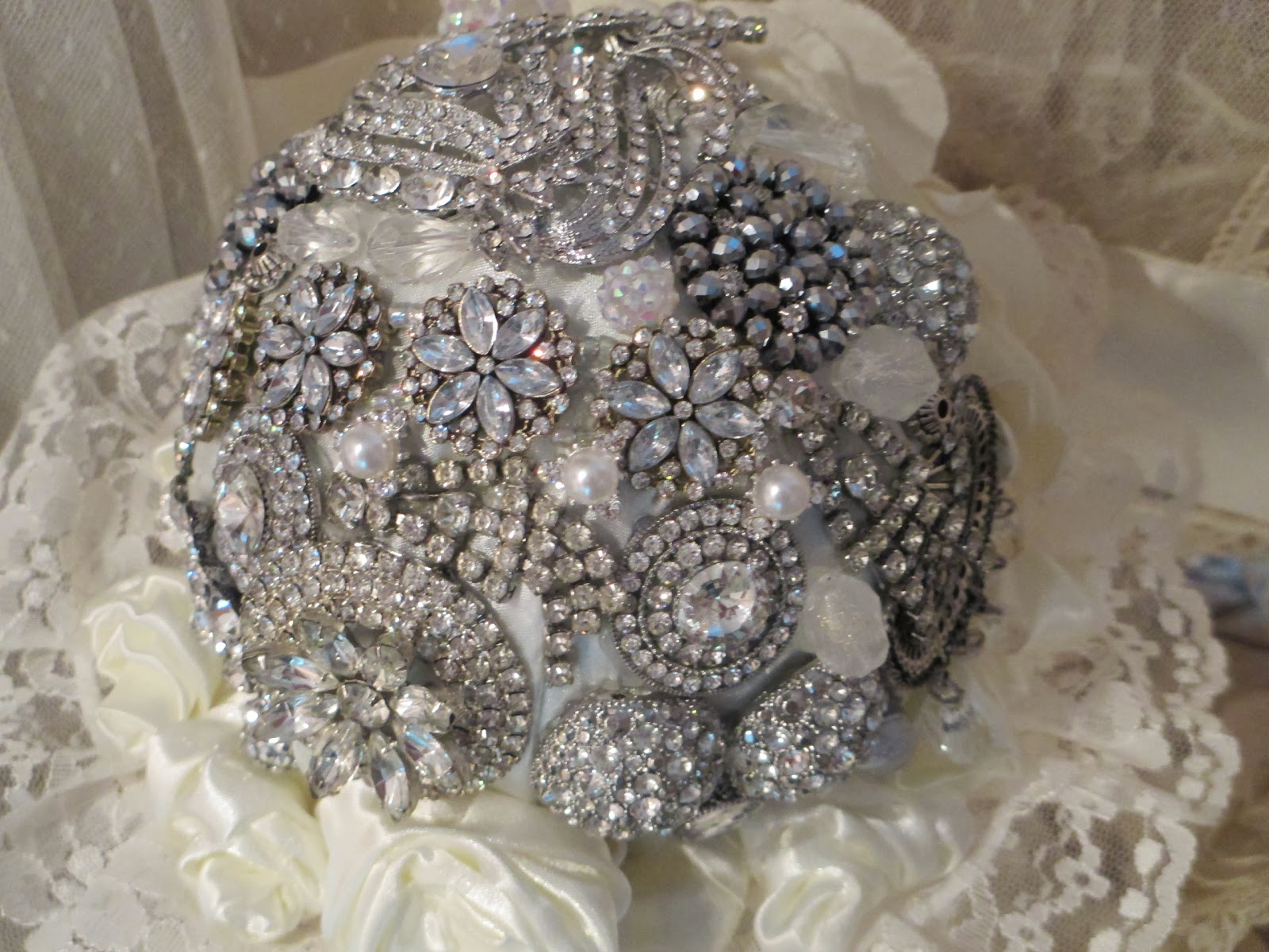You Can Also Have Family Heirlooms Like Rhinestones To Put In Your Bouquet