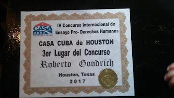 3er Lugar Concurso de Ensayo Pro Derechos Humanos