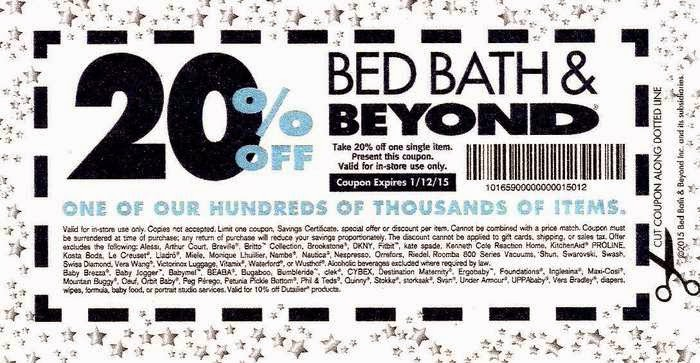Bed Bath And Beyond  Off Online Coupon
