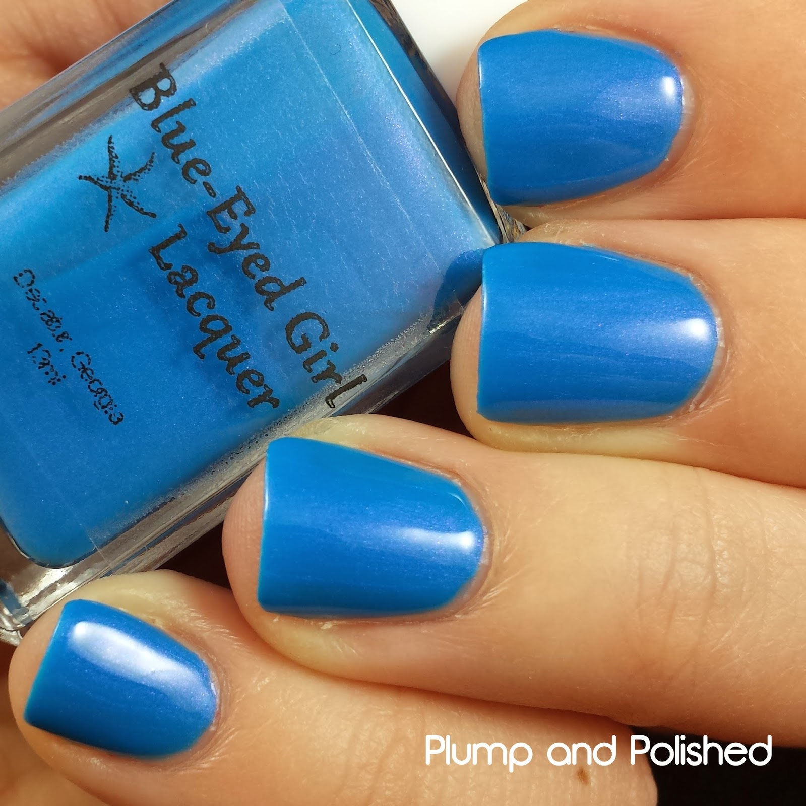 Blue-Eyed Girl Lacquer - Sirens are Made for Water, Not Snow