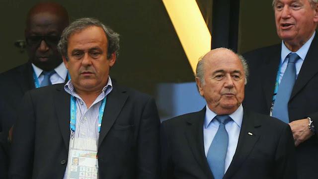 Los sponsors se llevan por delante a Platini y a Blatter