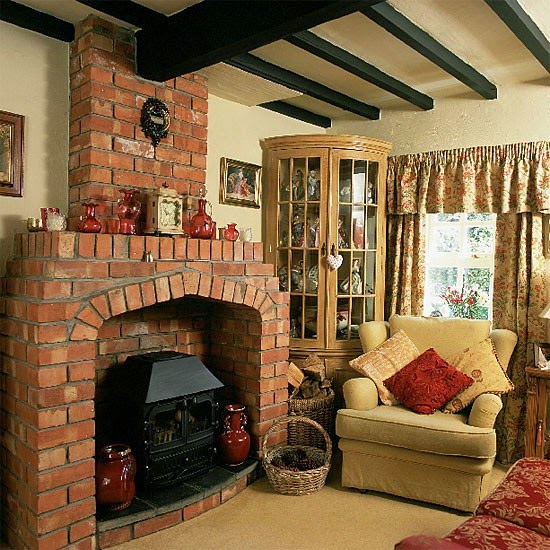 Cottage style living room furniture sets Decorating ideas for cottages