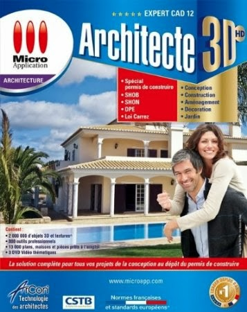 Telecharge architecte 3d hd expert cad edition 12 for Architecte 3d avec crack