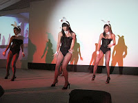 Performance by the bunny girls