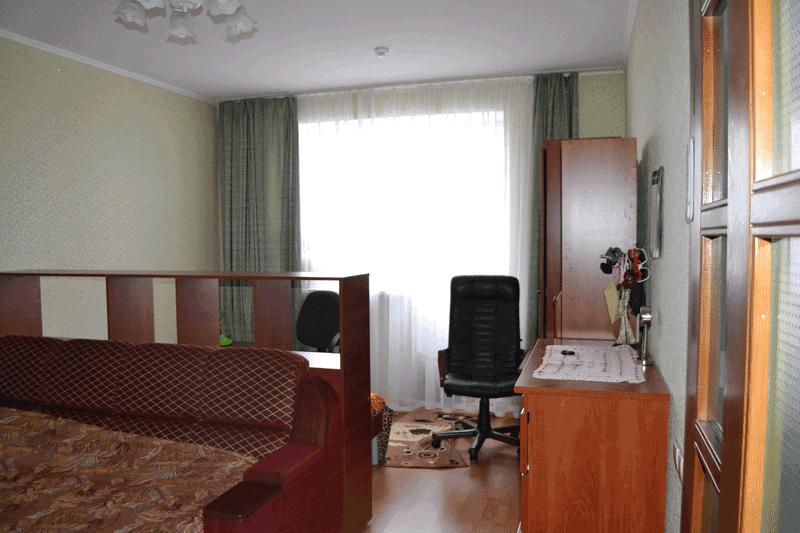 Перестановка  в квартире - вид с двери