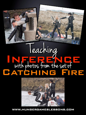 Teaching inference with photos from the set of Catching Fire