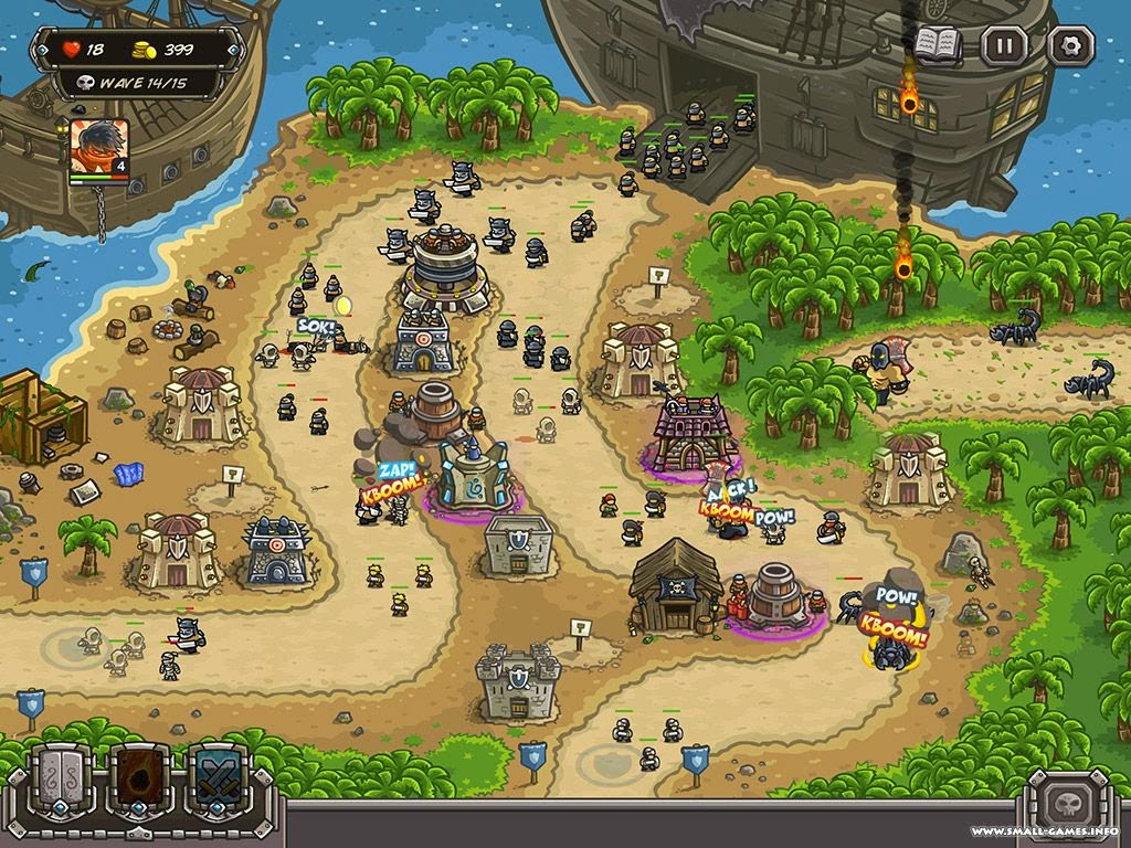 Kingdom Rush Frontiers Unblocked At School