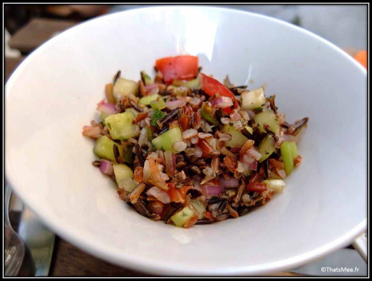 ceviche poisson cru mariné salade riz noir, Cevicheria Paris Montorgueil