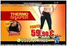 Thermo shaper pantaloncino e top