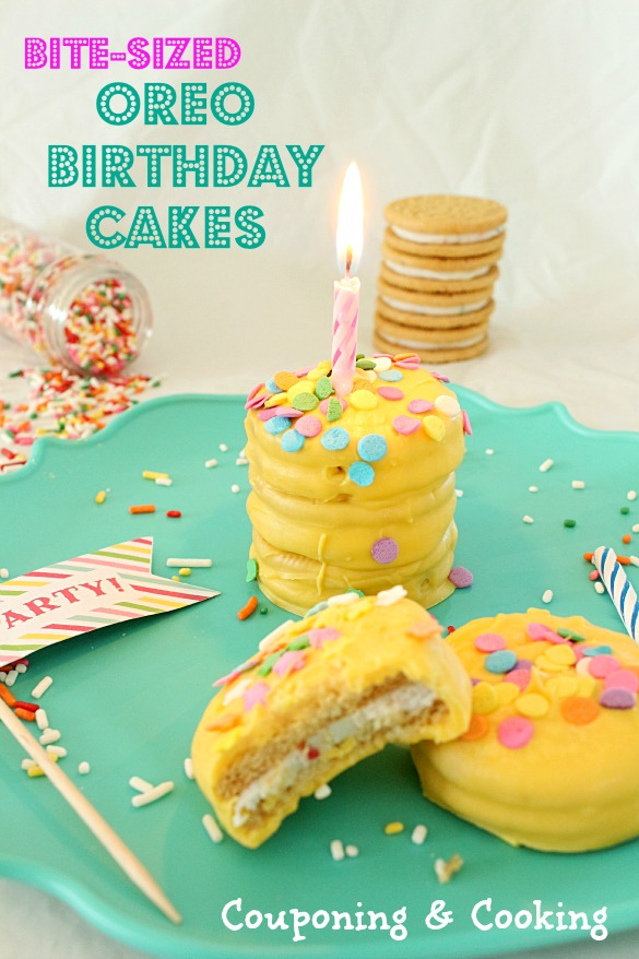 Tobins Tastes Bite Sized Birthday Cakes Made With Golden