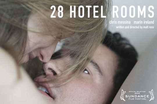 28 Hotel Rooms (2012) - Official Poster