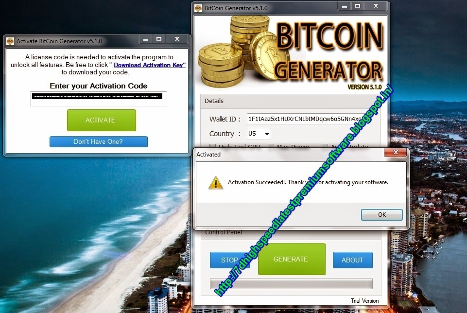 Digital Software and Solutions: Bitcoin Generator 2014 v5.1.0 Incl Activation Key Free ...