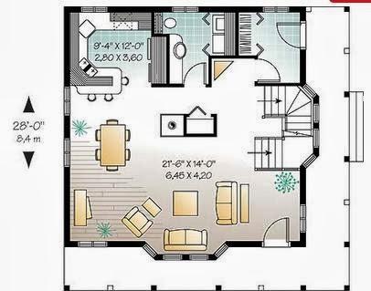 Planos de casas peque as planos de casas peque as de 2 pisos for Planos de casas pequenas de un piso gratis