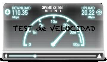 Test velocidad ADSL