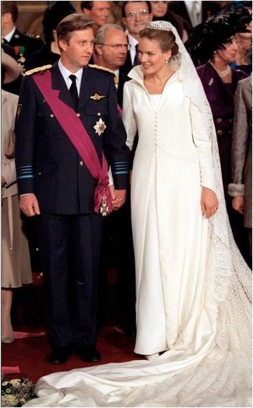 Wedding Dresses  Belgium : The royal order of sartorial splendor wedding wednesday