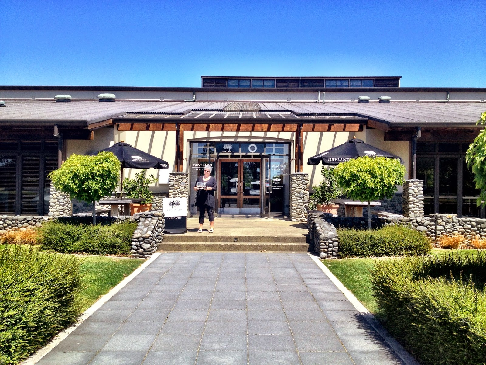 Drylands winery, Marlborough, New Zealand
